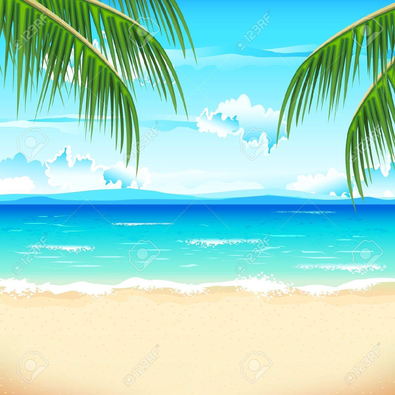 The prices for stock. Beach clipart beach scene