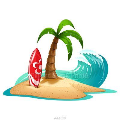 Beach clipart beach stuff. Palm tree panda free