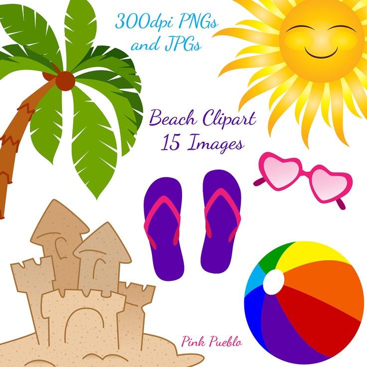best art doodles. Beach clipart beach stuff