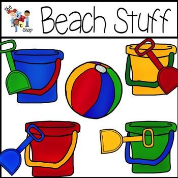 Set by total language. Beach clipart beach stuff