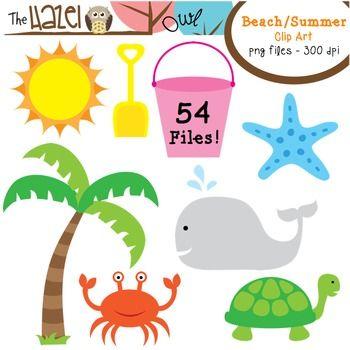 crab clipart beach theme