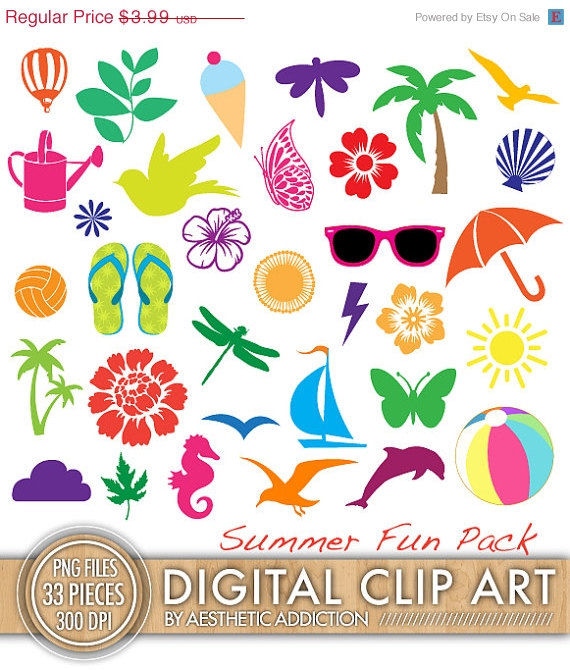 beach clipart beach theme