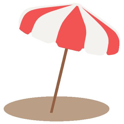Svg scrapbook cut file. Beach clipart beach umbrella