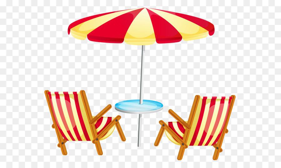 Beach clipart beach umbrella. Deckchair stock photography clip