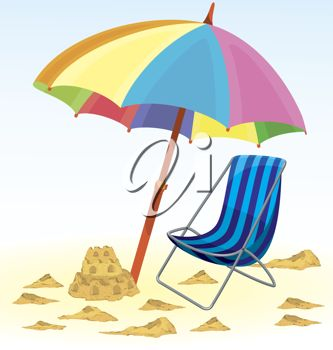 Beach clipart beach umbrella.  best photo umbrellas