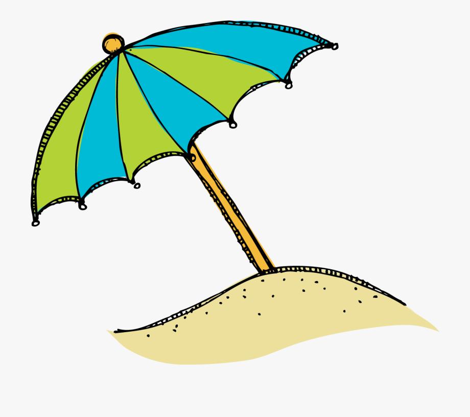 Beach clipart beach umbrella. Clip art cartoon free