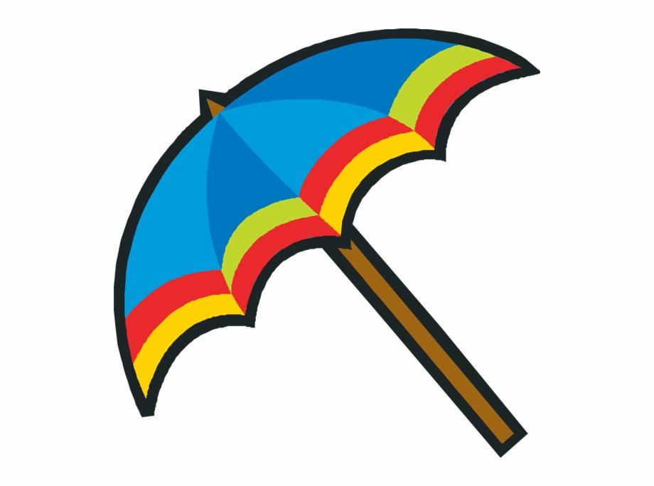 Cute . Beach clipart beach umbrella