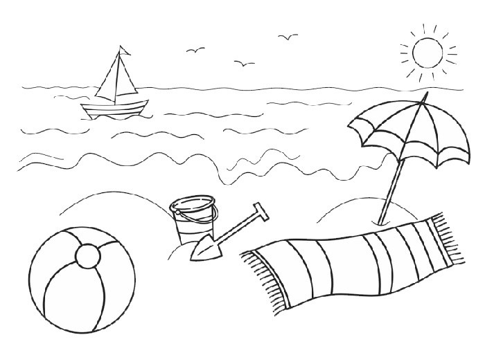Beach clipart black and white. Furniture walpaper free clipartxtras