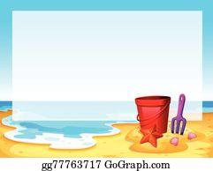 Beach clipart borders. Border clip art royalty