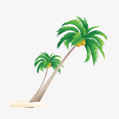 Cartoon free downloads sandy. Beach clipart coconut tree