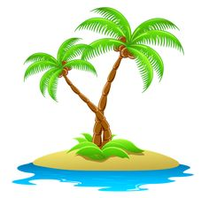 Beach clipart coconut tree. Pin by iowa farmers