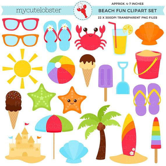 Beach clipart crab. Set sandcastle summer sunglasses