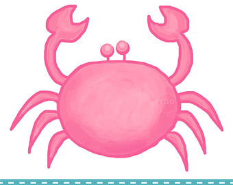 crabs clipart preppy