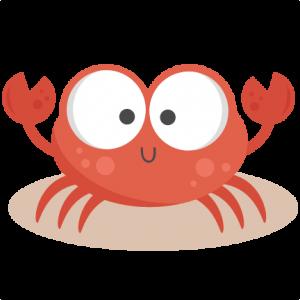 Beach clipart crab. Daily freebie miss kate