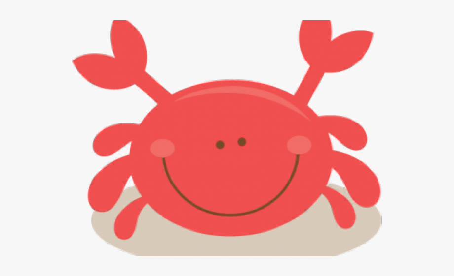 Cute baby . Crab clipart beach