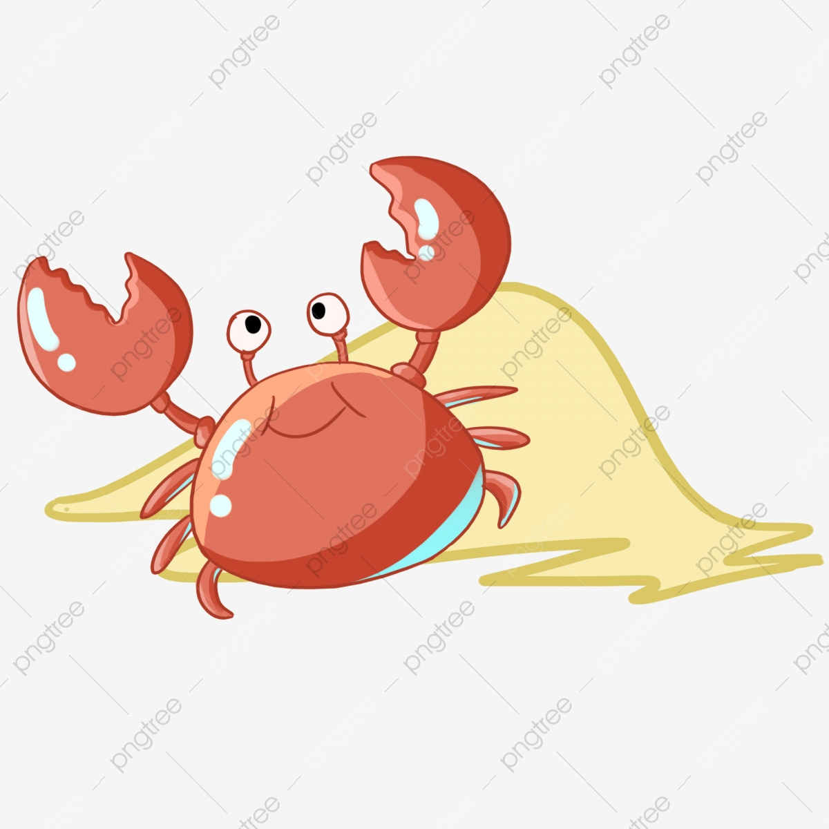 Crab clipart beach. Crabs circle png vector