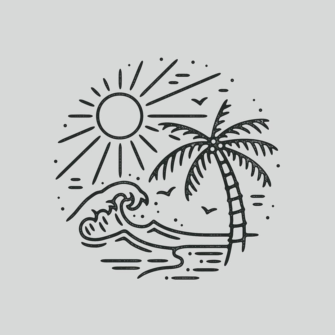 leenaugustijnen. Beach clipart easy