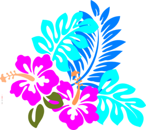 Beach clipart flower. Flowers clip art library