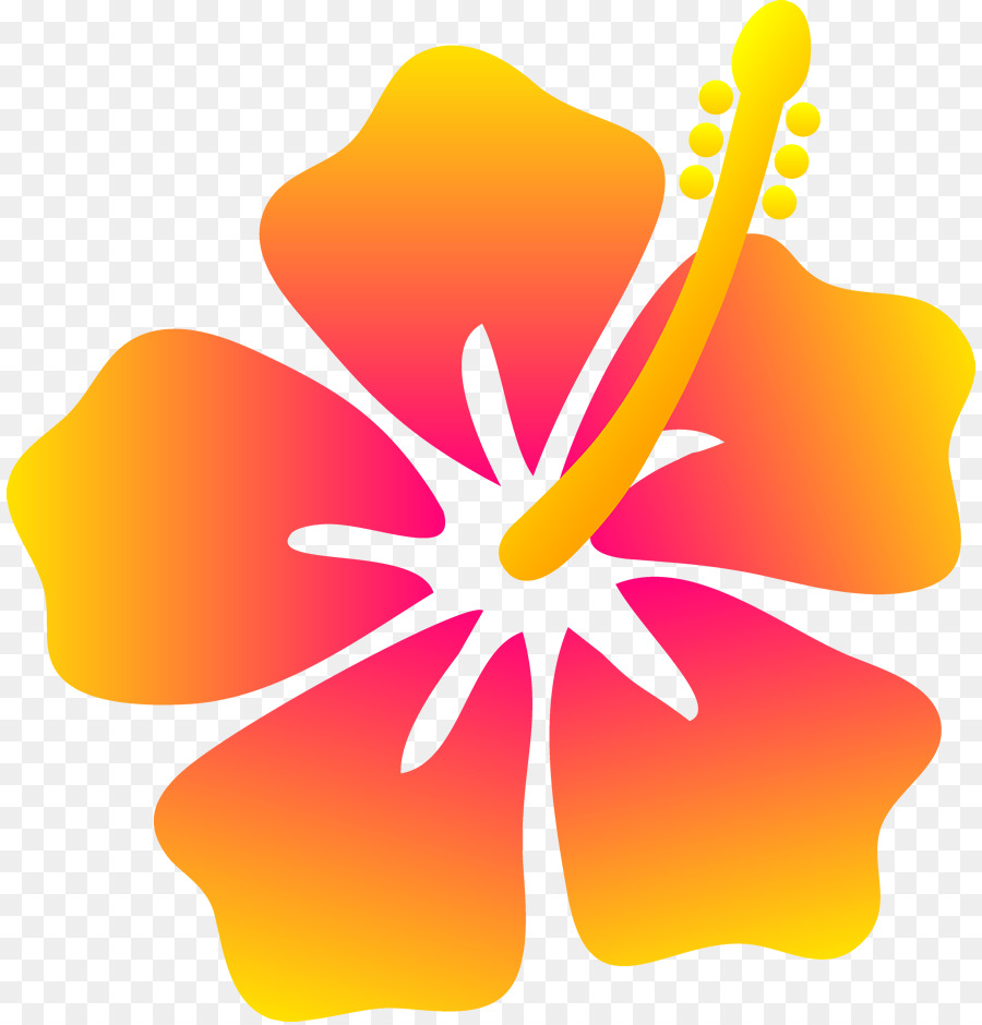 Beach clipart flower. Hawaii hibiscus clip art