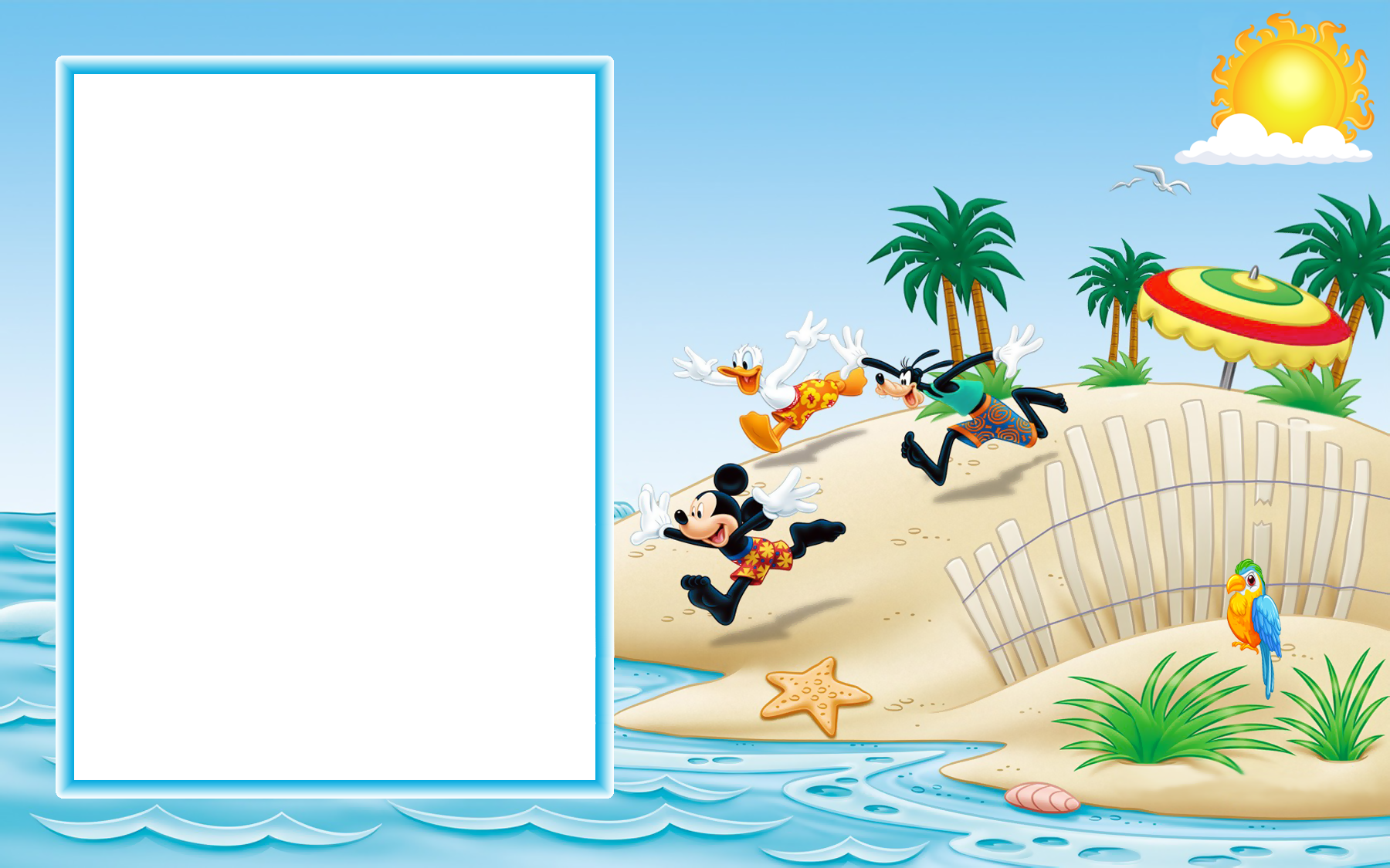 Mickey mouse frame png. And friends on the