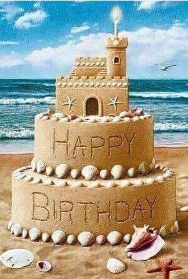 Beach clipart happy birthday. You ve made it