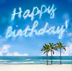 Google search pinterest birthdays. Beach clipart happy birthday