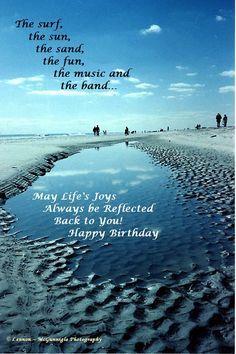 Google search pinterest . Beach clipart happy birthday