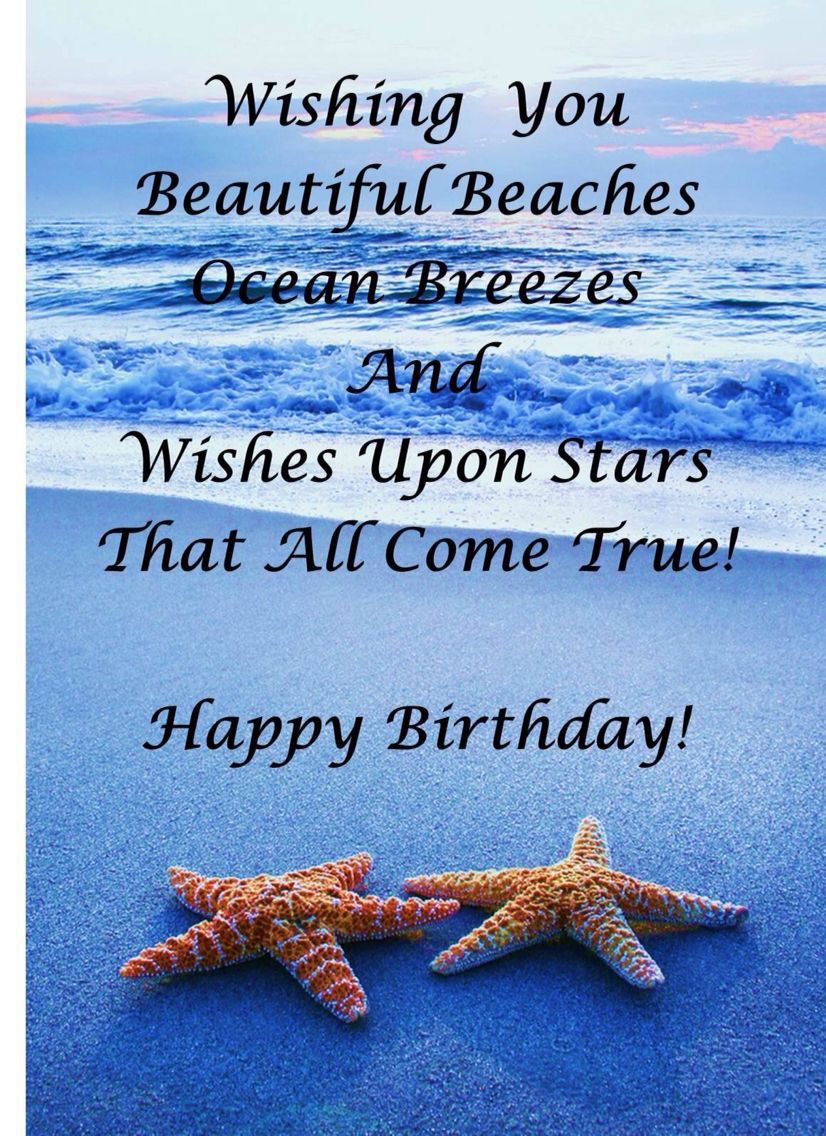 best wishes for. Beach clipart happy birthday