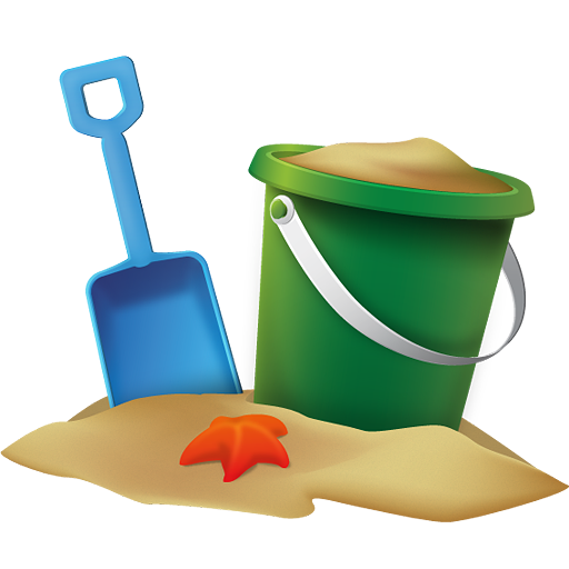 Beach png images. Bucket icon free icons