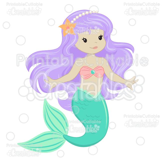 Beach clipart mermaid. Cute svg cut files