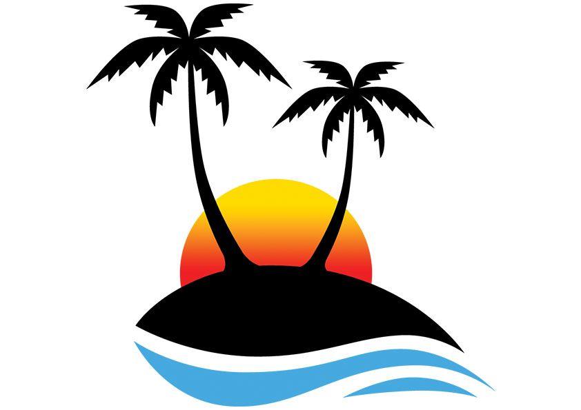 Palm clipart printable. Tree clip art free