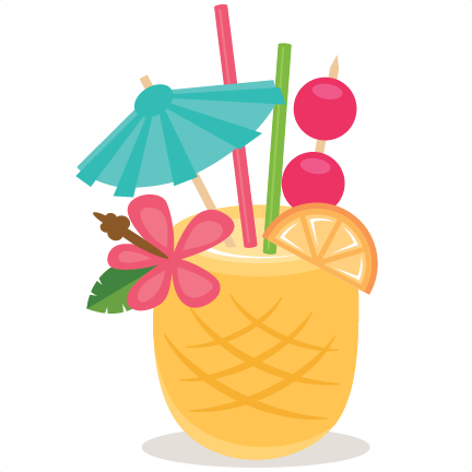 Beach clipart pineapple. Drink freebie of the