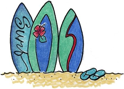best clip art. Beach clipart printable