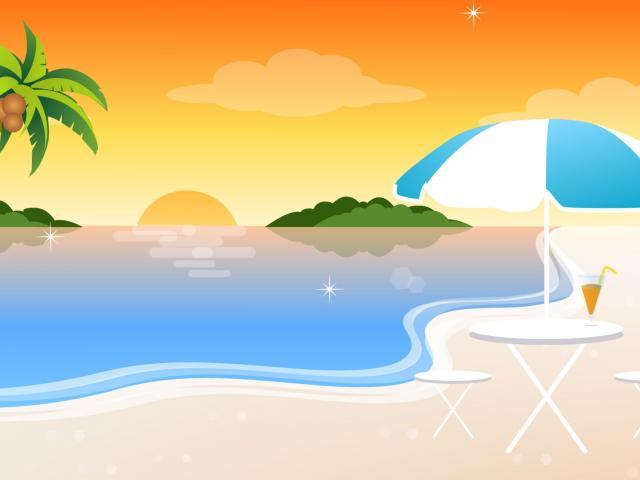Beach clipart scenery. Seashore free on dumielauxepices