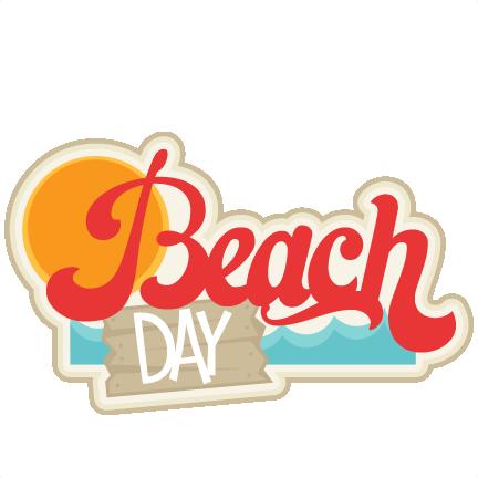 Beach clipart scrapbook. Scrapbooking summer svg title