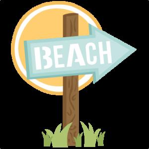 Freebie of the day. Beach clipart scrapbook