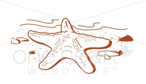 Beach clipart starfish. Wedding