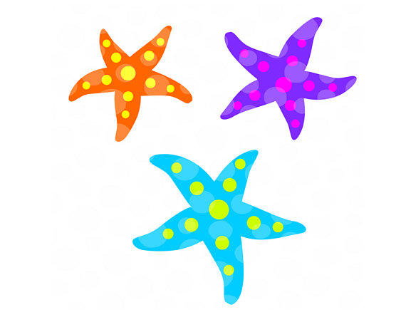 Beach clipart starfish. Svg cut file silhouette