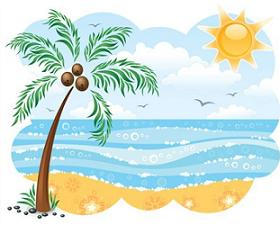 Free summer cliparts download. Beach clipart summertime