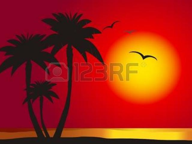 Beach clipart sunset. Cliparts free download clip