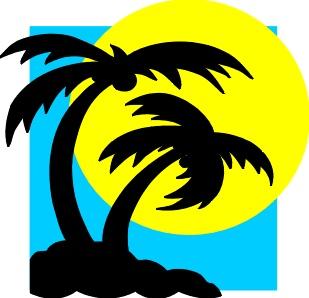 Beach clipart symbol. Free labor day a