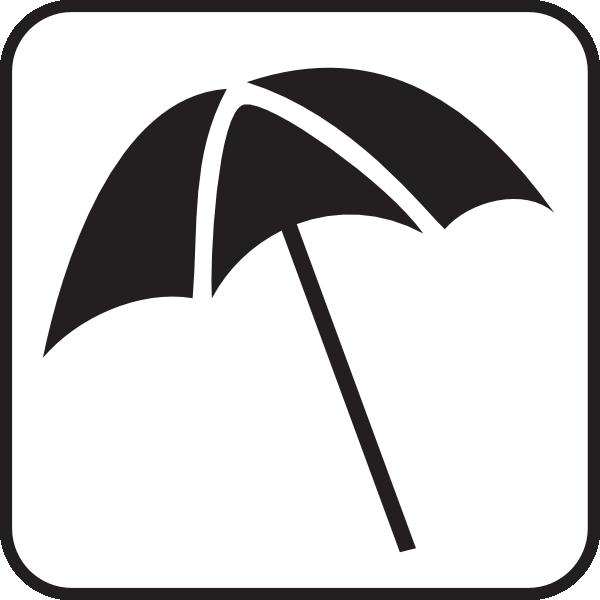 Access white clip art. Beach clipart symbol
