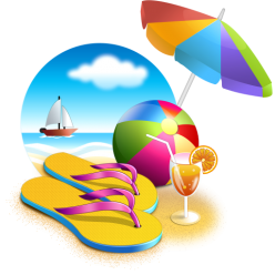 Rock png free images. Beach clipart transparent background