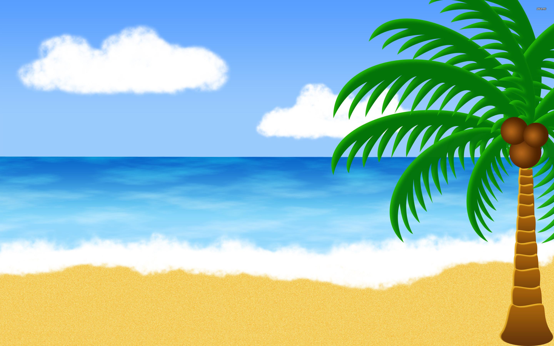 Beach clipart tropical beach. Background images x