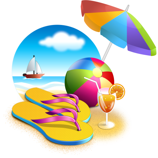 Transparent all. Beach png images