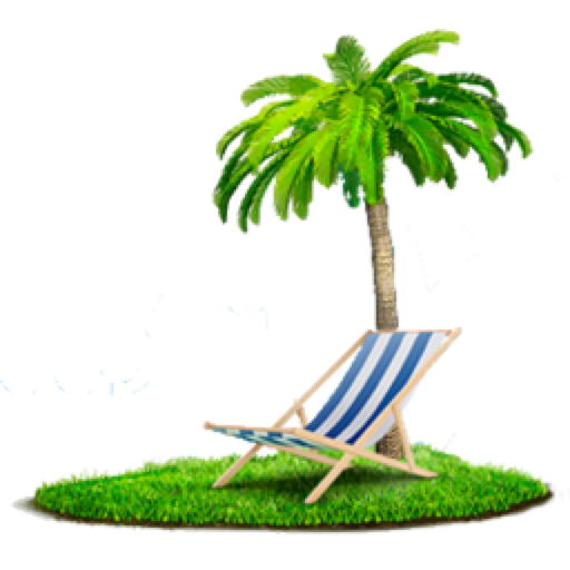 Beach png images. Palm chair free icons