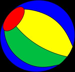 Beachball clipart 1 ball. Free beach clip art