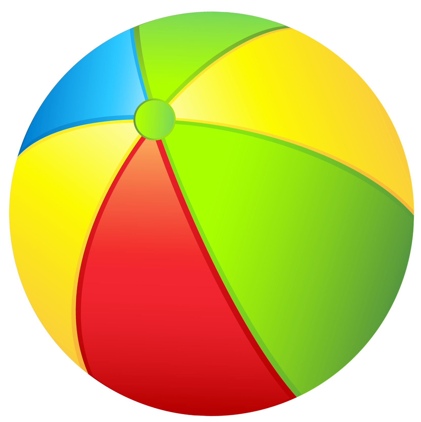Transparent beach ball png. Beachball clipart