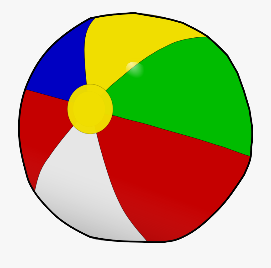Of beach ball free. Beachball clipart