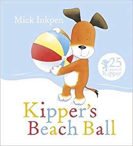 Beachball clipart animal. Kipper s beach ball